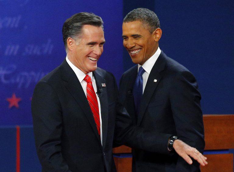Λίγο πριν τη… σέντρα Ομπάμα-Ρόμνεϊ – Σήμερα το δεύτερο debate | Newsit.gr