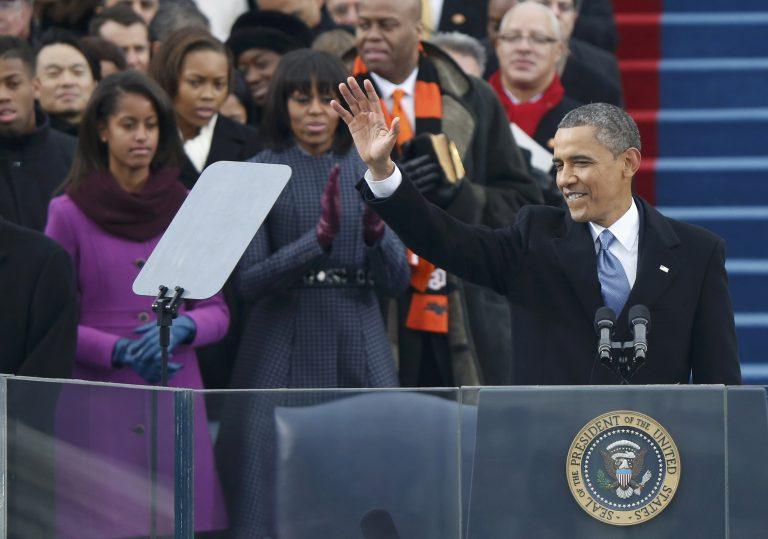 Δείτε φωτογραφίες από την ορκομωσία του Ομπάμα | Newsit.gr