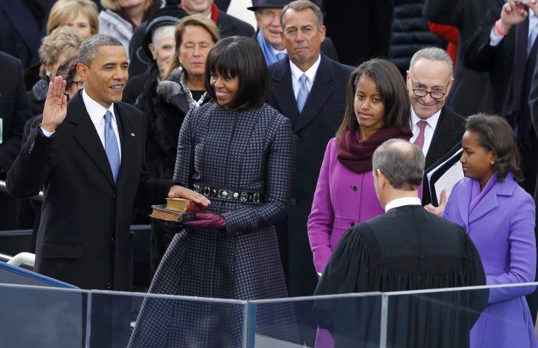 Ορκίστηκε ο Αμερικανός Πρόεδρος Μπαράκ Ομπάμα | Newsit.gr
