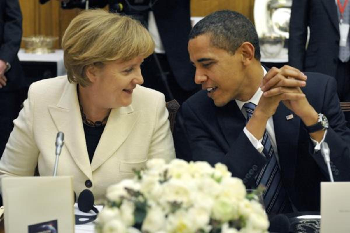 Ομπάμα σε Μέρκελ:Λύστε το Ελληνικό πρόβλημα χρέους | Newsit.gr