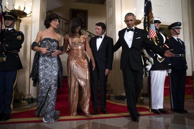 Έπαθε… Μισέλ ο Ρέντσι στο Λευκό Οίκο! Το τελευταίο επίσημο δείπνο των Ομπάμα [pics, vids] | Newsit.gr