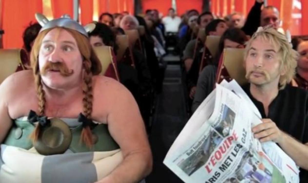 Ο Οβελίξ υπερασπίζεται τον Depardieu για το περιστατικό με το αεροπλάνο! Δες βίντεο | Newsit.gr
