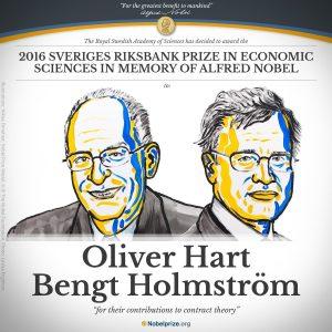 Σε Χαρτ και Χόλμστρεμ το Νόμπελ Οικονομίας 2016