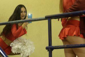 Eurocup: «Φωτιά» οι cheerleaders του Ολυμπιακού! [pics]