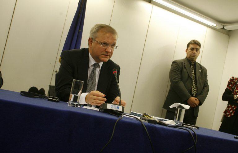 Παρέμβαση Ε.Ε.στους προϋπολογισμούς των κρατών – μελών προτείνει ο Ολι Ρεν | Newsit.gr