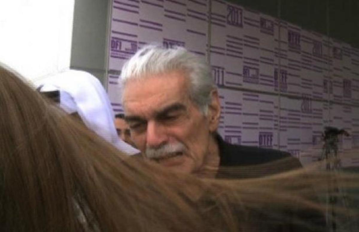 Ο Ομάρ Σαρίφ χτύπησε φαν του σε Φεστιβάλ Κινηματογράφου! | Newsit.gr