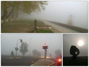 Γιάννενα: Τοπίο στην ομίχλη – Μειωμένη η ορατότητα στους δρόμους της πόλης [pics]