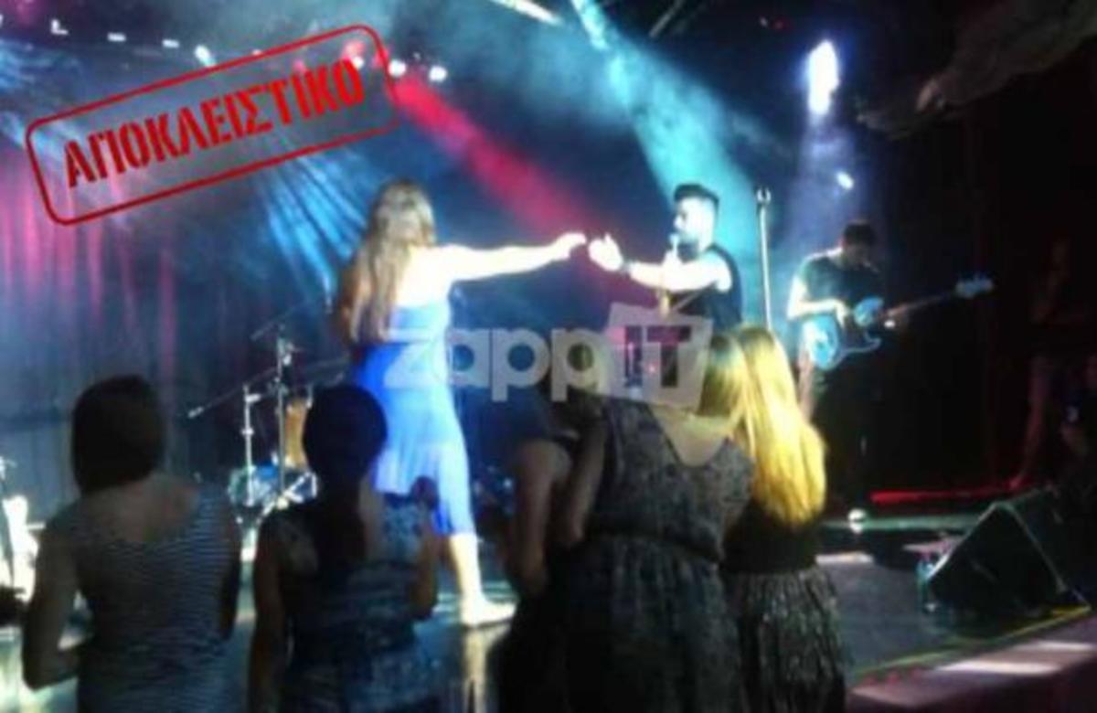 ΑΠΟΚΛΕΙΣΤΙΚΟ! Δείτε πως μια τουρίστρια διέκοψε τη συναυλία των Ονιράμα σε κρουαζιερόπλοιο! | Newsit.gr