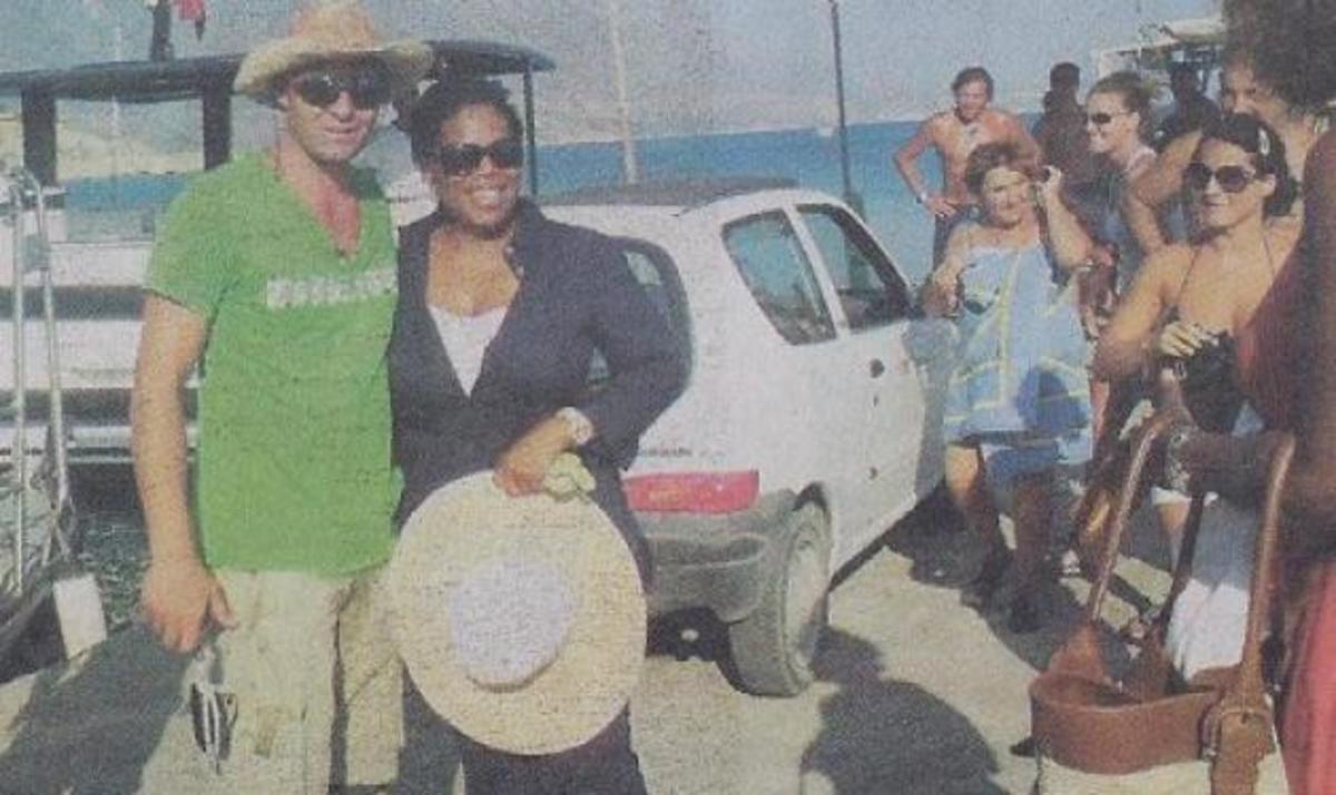 Διακοπές στη χλιδή πέρασε η Oprah στην Ελλάδα!   Newsit.gr