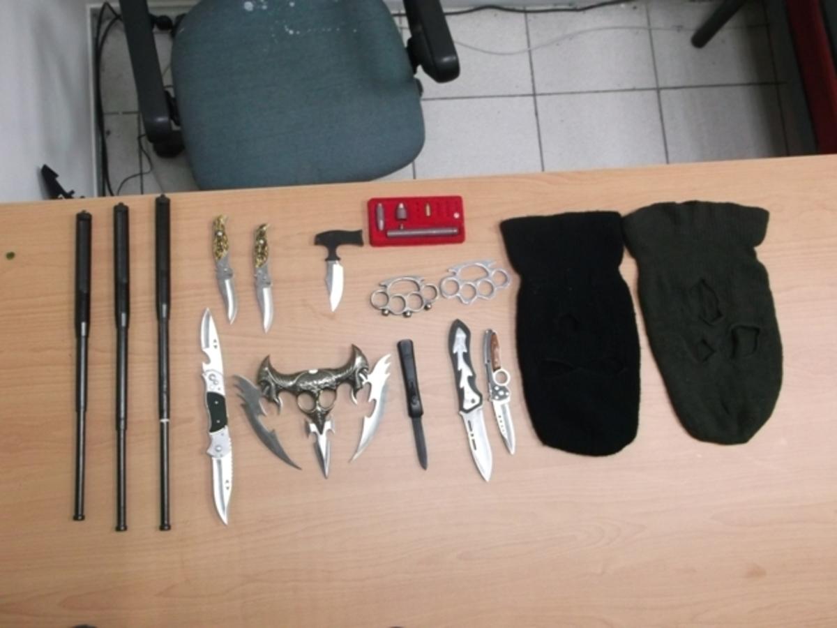 Kατερίνη: Είχε όλων των ειδών τα όπλα! | Newsit.gr