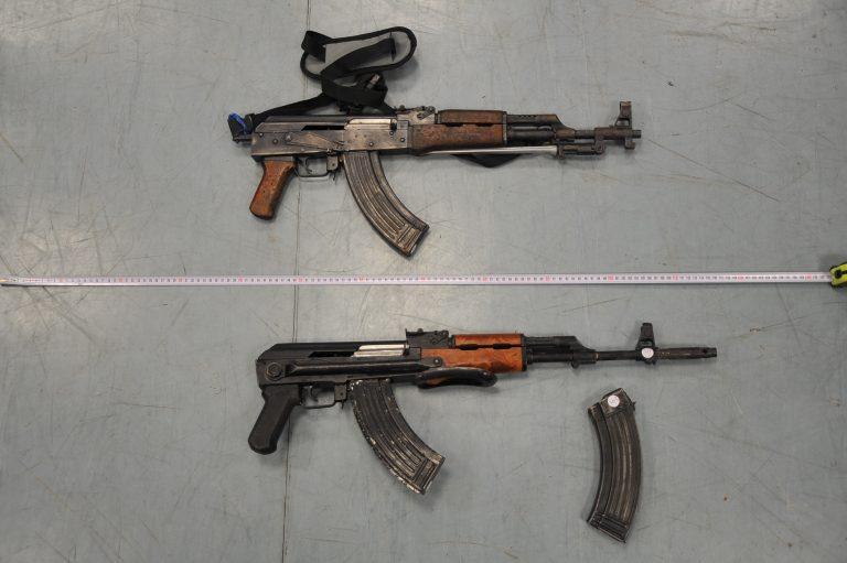 Αυτά είναι τα όπλα που είχαν μαζί τους οι ληστές του Βελβεντού   Newsit.gr