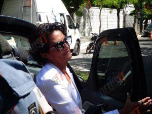Άλκηστις Πρωτοψάλτη: Με τζιπ και όχι με ακριβό διθέσιο έφτασε για την ορκωμοσία στο Προεδρικό
