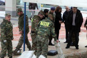 Ο επικεφαλής της επιχείρησης του στρατού στο Κορδελιό μιλάει για τη βόμβα