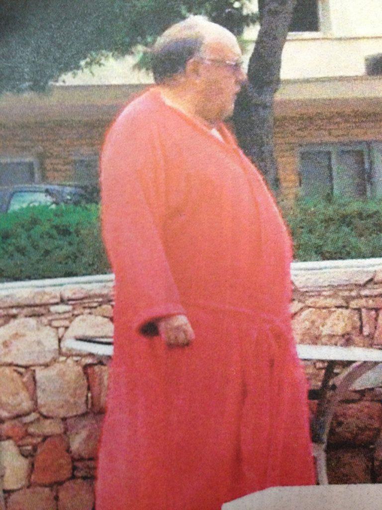 Ο Θόδωρος Πάγκαλος με μπουρνούζι! | Newsit.gr