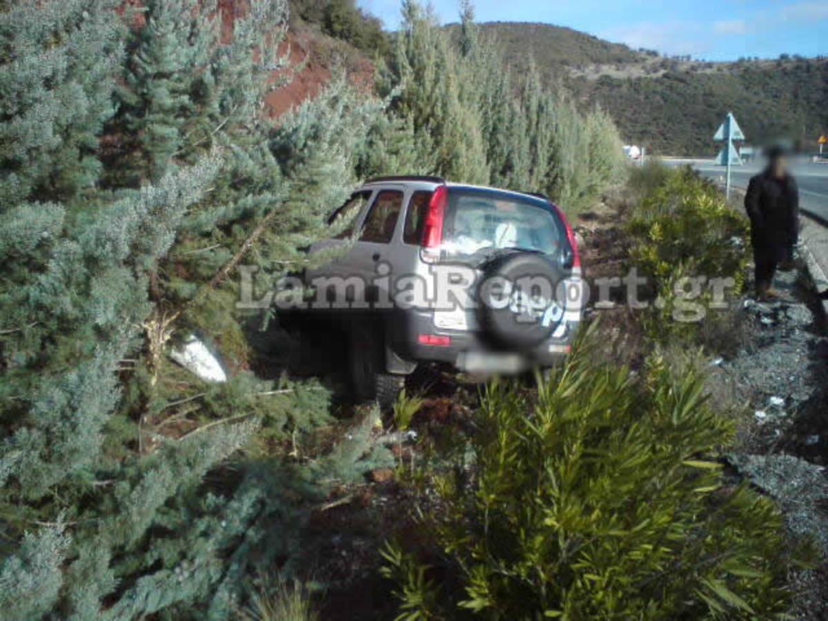 Φθιώτιδα: Ατυχήματα στις παγωμένες στροφές του Δομοκού – Φωτό! | Newsit.gr