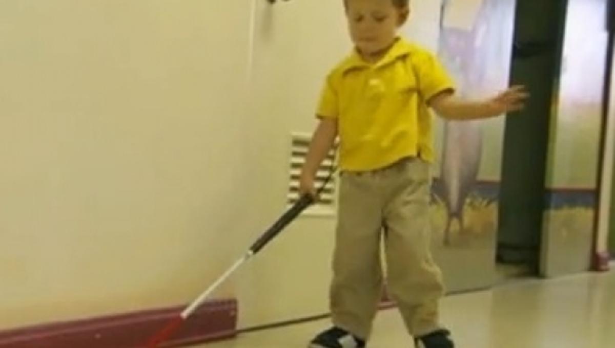 Δείτε πως λειτουργεί σχολείο για τυφλά παιδιά στις ΗΠΑ (VIDEO)   Newsit.gr