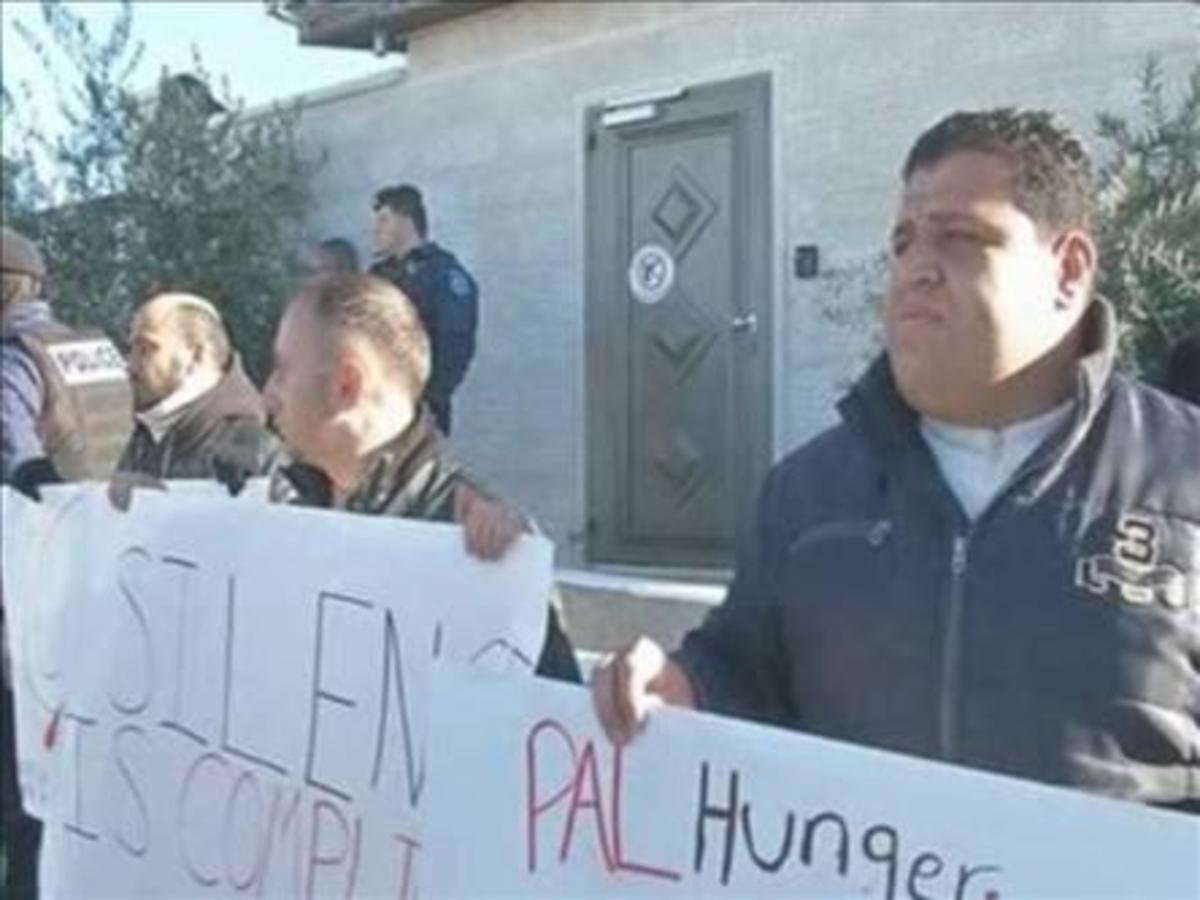 Ισραήλ: Παλαιστίνιοι φυλακισμένοι διαμαρτύρονται με απεργία πείνας   Newsit.gr