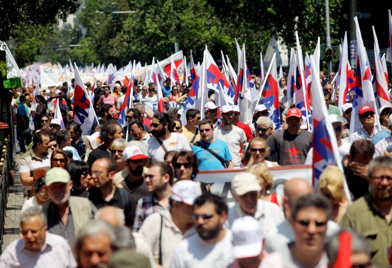 Θεσσαλονίκη: Πορεία του ΠΑΜΕ για το μεσοπρόθεσμο   Newsit.gr