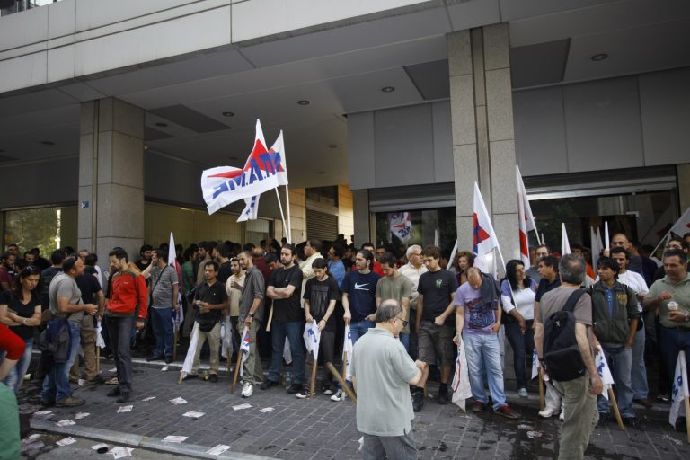 Θεσσαλονίκη: Αποκλεισμός της Βιομηχανικής Περιοχής της Σίνδου | Newsit.gr