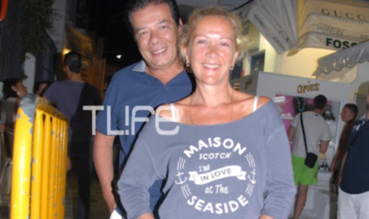 Ε. Πανοπούλου: Συνεχίζει τις διακοπές της στο νησί των Ανέμων! | Newsit.gr