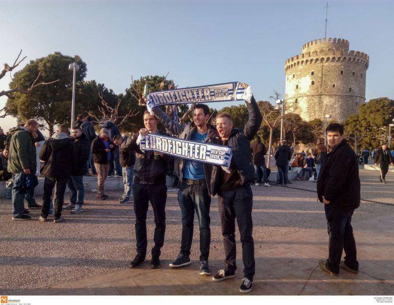 ΠΑΟΚ – Σάλκε: Γερμανοί και Σκοπιανοί ποζάρουν παρέα στη Θεσσαλονίκη [pic] | Newsit.gr