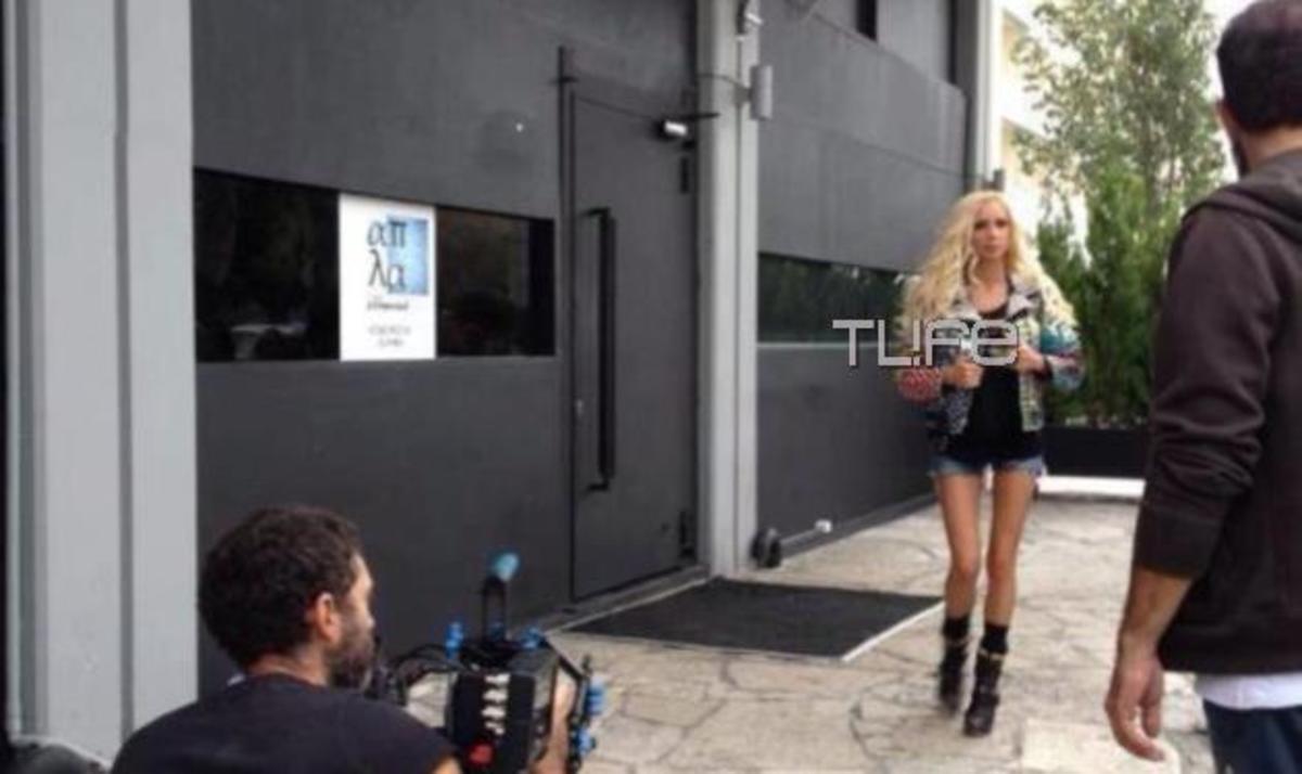 Πάολα: Το TLIFE στα παρασκήνια του νέου της video clip! Φωτογραφίες | Newsit.gr