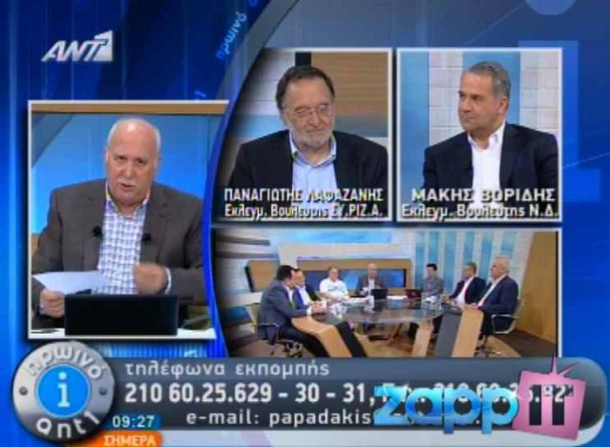 Ο Γιώργος Παπαδάκης εξηγεί γιατί δεν έχει φιλοξενήσει εκπρόσωπο της Χρυσής Αυγής | Newsit.gr