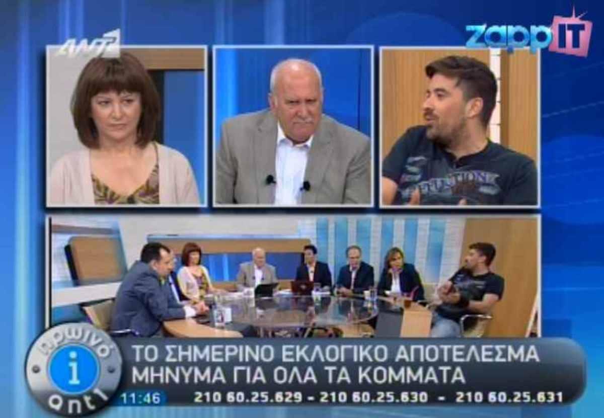 Ο Γιώργος Παπαδάκης μαθαίνει στον αέρα για το θάνατο του φίλου του Κώστα Καρρά   Newsit.gr
