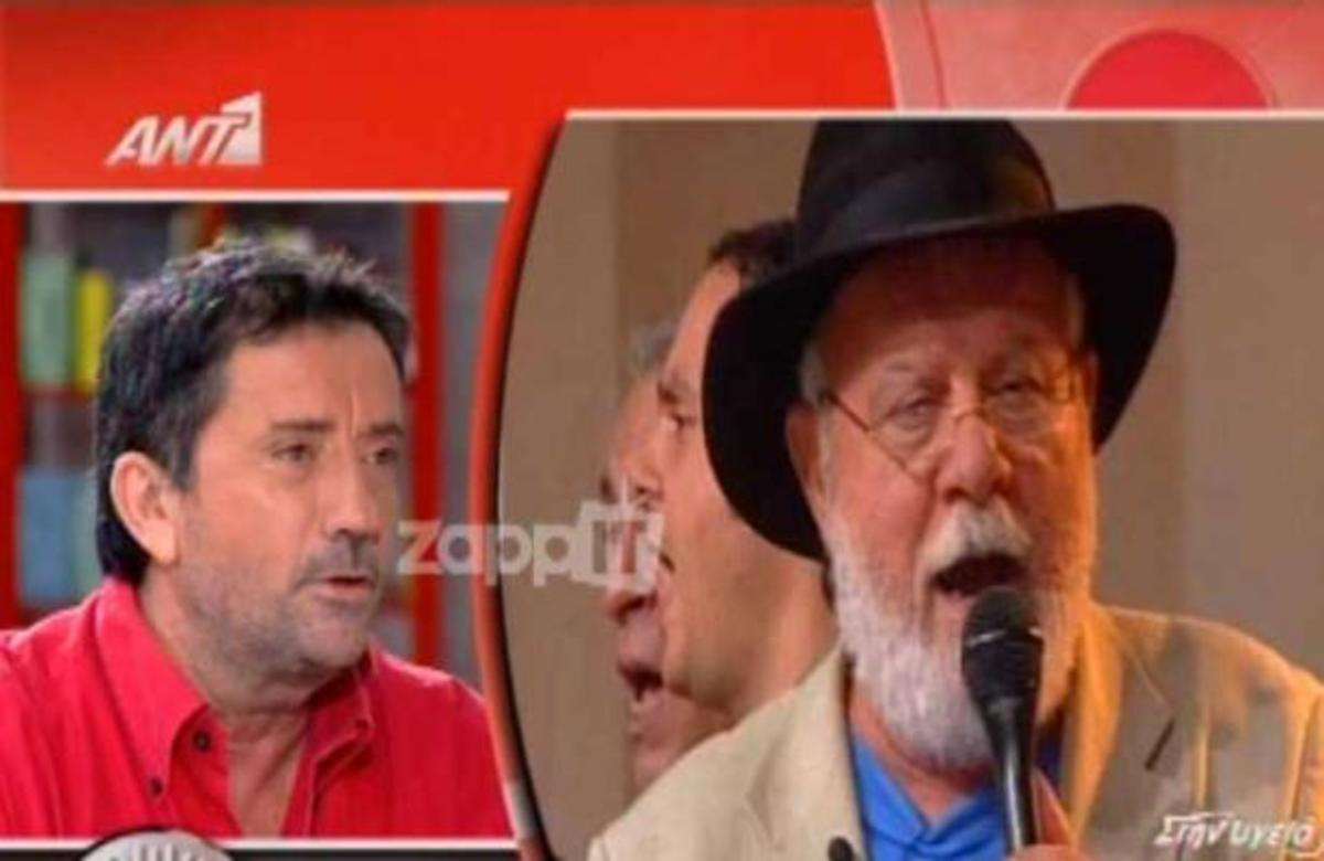 Η συγκίνηση του Σπύρου Παπαδόπουλου για το γράμμα που βρήκε μετά τον θάνατο του Μανώλη Ρασούλη   Newsit.gr