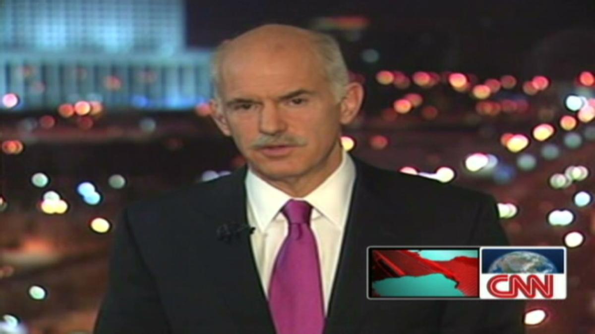 Γ. Παπανδρέου στο CNN: Δεν αναδιαρθρώνεται το χρέος   Newsit.gr
