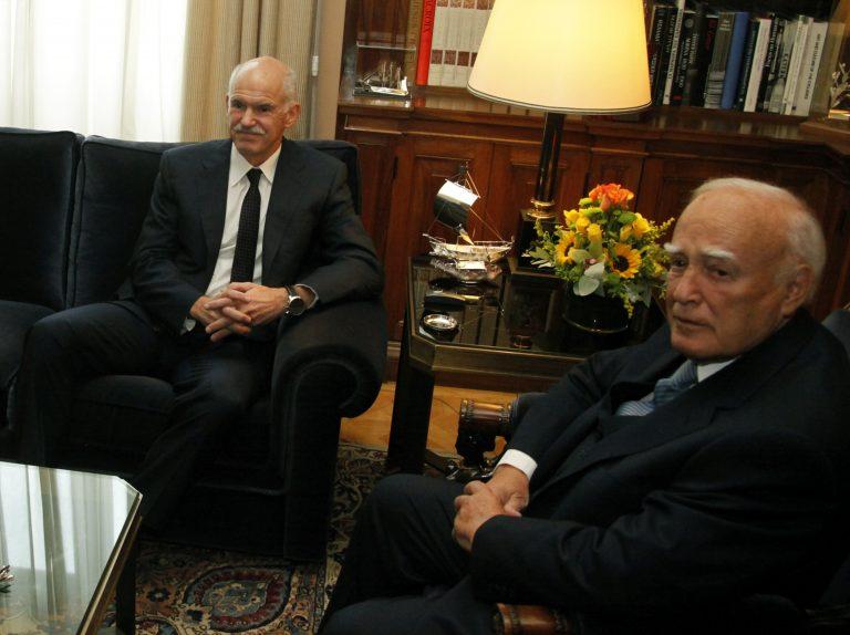 Ο Παπανδρέου ενημερώνει τους πολιτικούς αρχηγούς – Βλέπει Σαμαρά αύριο στις 19:00 | Newsit.gr