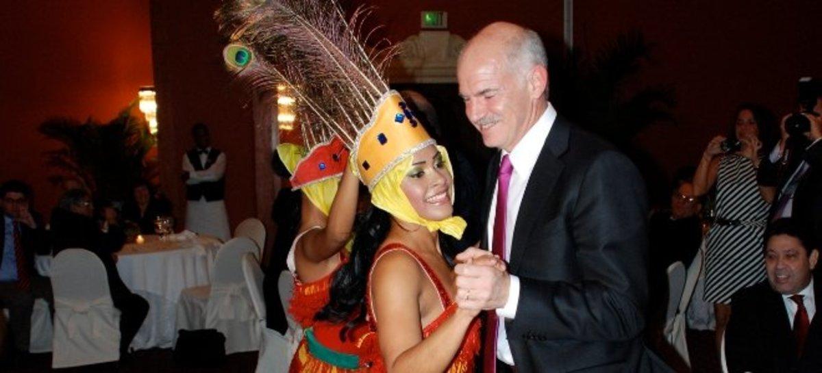 Η Ελλάδα »κουρεύεται» ο Γ.Παπανδρέου στην Κόστα Ρίκα | Newsit.gr