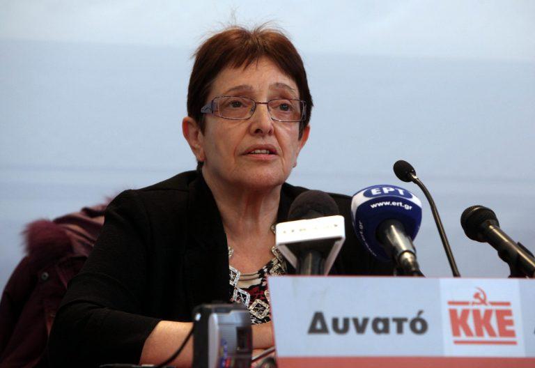 Παπαρήγα: Διαφωνούμε 100% με τις περικοπές στα ειδικά μισθολόγια | Newsit.gr