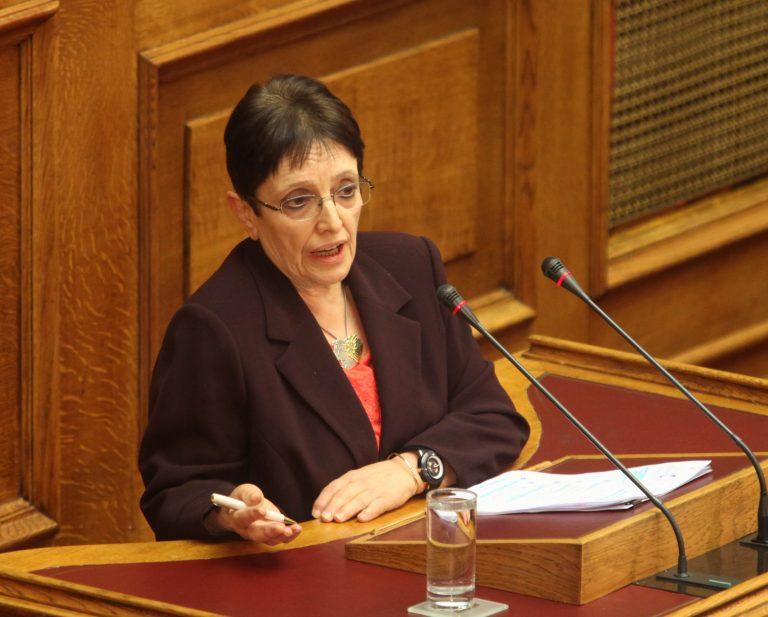 Υπέρ των μπλόκων η Αλ. Παπαρήγα | Newsit.gr