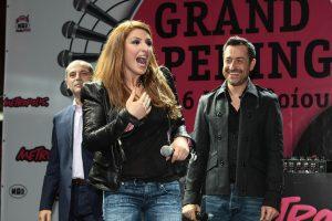 Οι επαφές της Έλενας Παπαρίζου για τη Eurovision