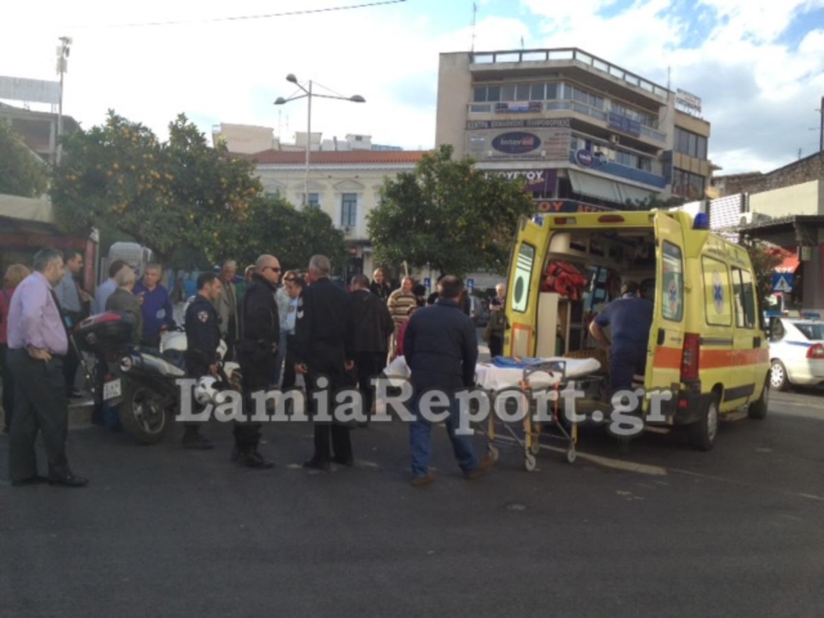 Φθιώτιδα: Τραυματισμένη στην άσφαλτο μια ηλικιωμένη μετά από παράσυρση | Newsit.gr
