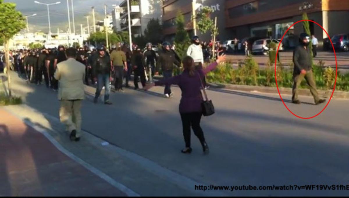 ΕΛ.ΑΣ: Χρυσαυγίτης και όχι αστυνομικός ο κρανοφόρος στην Πάτρα   Newsit.gr