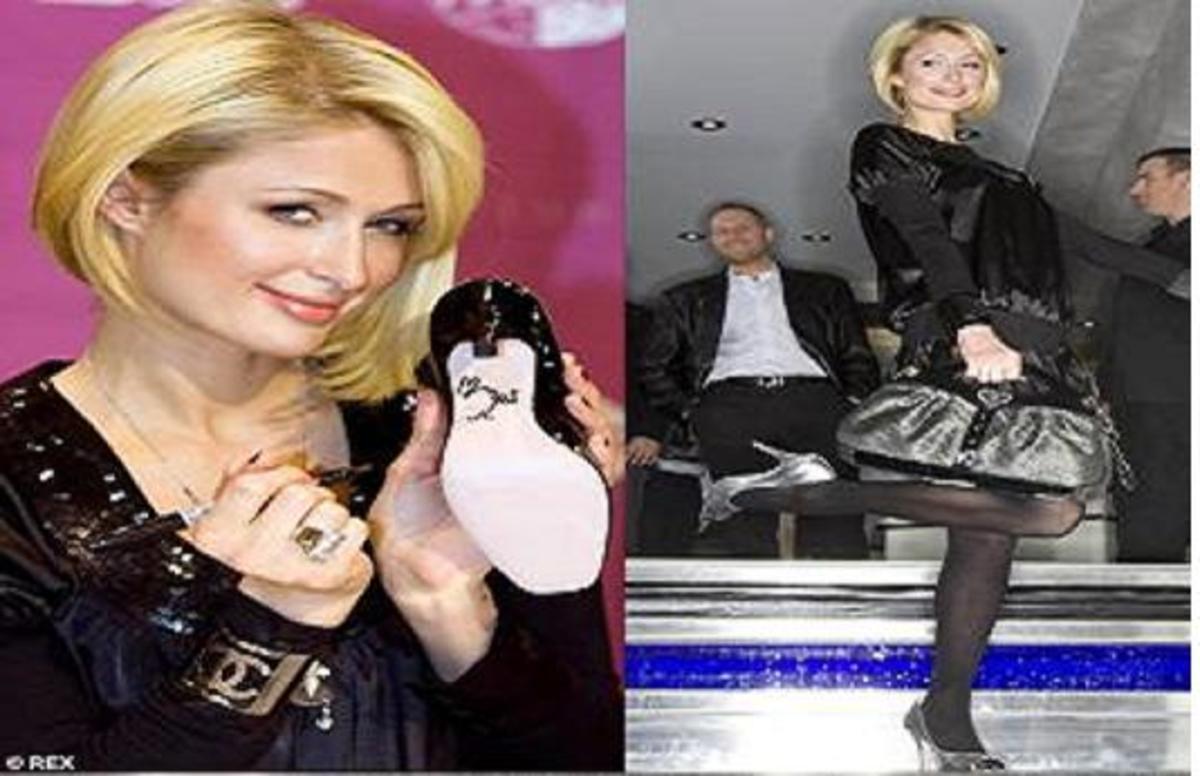 H Paris και…τα παπούτσια! | Newsit.gr