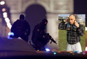 Λεωφόρος του τρόμου η Champs Elysees – Το πρόσωπο του δράστη της επίθεσης στο Παρίσι – Τον είχαν συλλάβει πρόσφατα αλλά τον άφησαν ελεύθερο