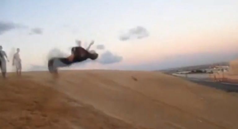 Συγκλονιστικό ΒΙΝΤΕΟ: Παρκούρ σε μια βομβαρδισμένη Γάζα!   Newsit.gr