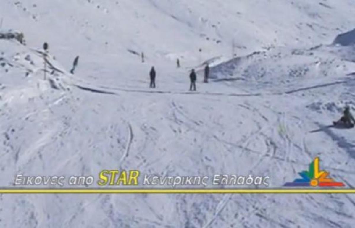 Χριστούγεννα στο Xιονοδρομικό Κέντρο Παρνασσού – ΒΙΝΤΕΟ   Newsit.gr