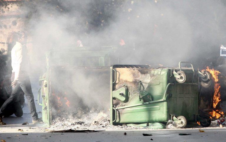 Ηράκλειο : Φωτιές και πετροπόλεμος πριν τον αγώνα ΟΦΗ-ΠΑΣ   Newsit.gr