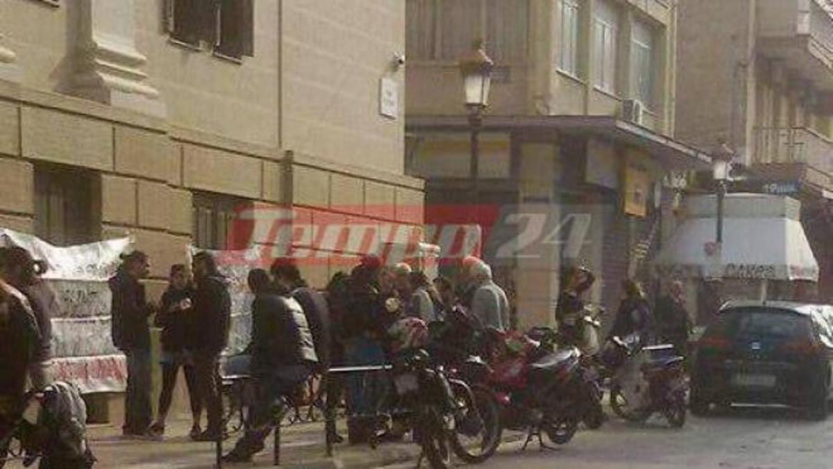 Πλειστηριασμοί: «Μπλόκο» στο Ειρηνοδικείο της Πάτρας | Newsit.gr