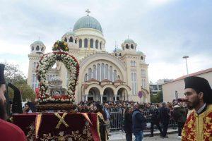 Η Πάτρα εορτάζει τον πολιούχο της Άγιο Ανδρέα [pics]
