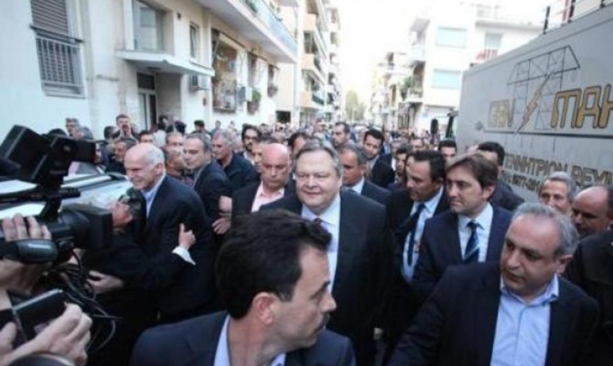 Ένταση στην Πάτρα – Προπηλακισμοί μετά την ομιλία Βενιζέλου | Newsit.gr