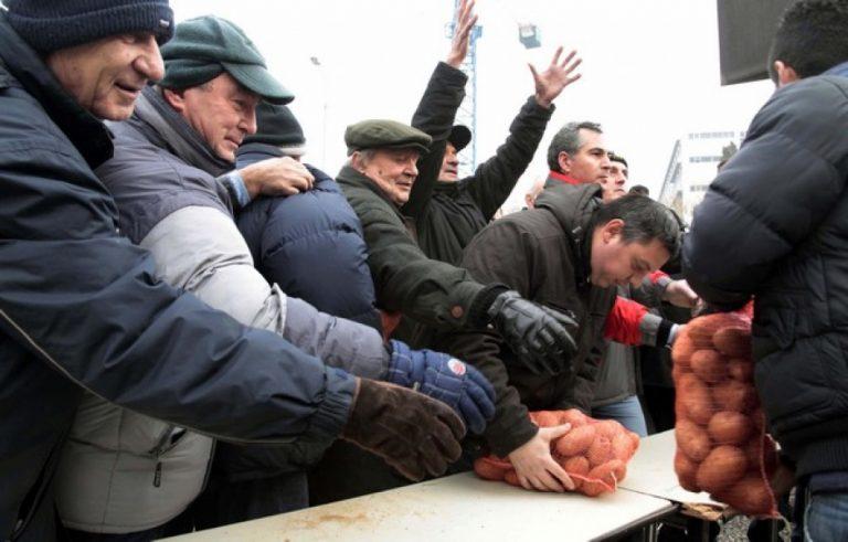 Πάτρα: Μέσα σε 15 λεπτά »εξαφάνισαν» 4 τόνους πατάτες! | Newsit.gr