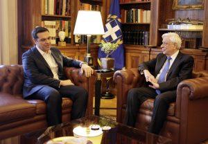 Τσίπρας – Παύλοπουλος: Τι συζήτησαν για το Κυπριακό [pics, vid]