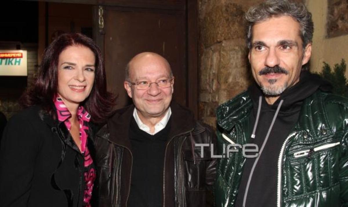 Π. Σταθακοπούλου: Σε μια από τις σπάνιες βραδινές εξόδους με τον σύζυγό της! | Newsit.gr