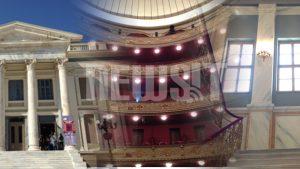 Είναι πραγματικό στολίδι – Το Δημοτικό Θέατρο Πειραιά ανοίγει και πάλι – Υπέροχες ΦΩΤΟ κ VIDEO
