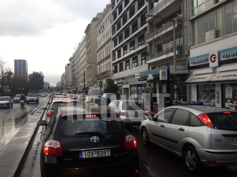 Έβρεξε και έχει μποτιλιάρισμα! – 40 λεπτά για μια διαδρομή 15 λεπτών!   Newsit.gr